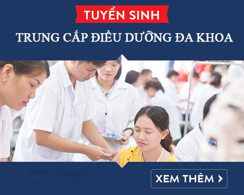 Tuyển sinh Trung cấp Điều dưỡng đa khoa TPHCM năm 2018