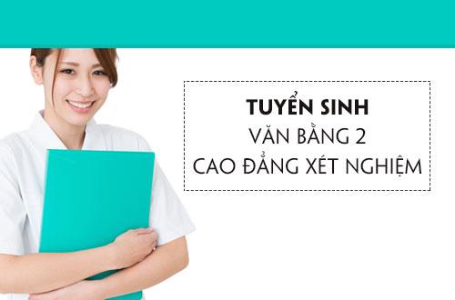 Cao đẳng Y Dược TP Hồ Chí Minh tuyển sinh Văn bằng 2 Cao đẳng Xét nghiệm trên phạm vi cả nước
