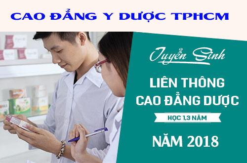 Thời gian liên thông Trung cấp lên Cao đẳng Dược TP.HCM
