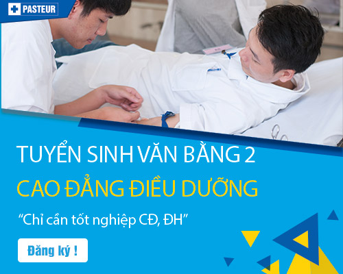 Xét tuyển Cao đẳng Điều dưỡng Sài Gòn hệ Văn bằng 2 năm 2018
