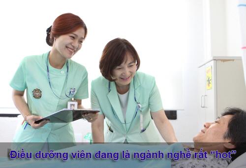 Điều dưỡng viên là ngành nghề mang lại mức thu nhập cao