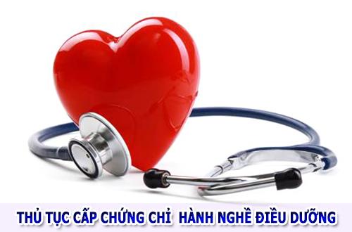 Thủ tục xin cấp giấy chứng chỉ hành nghề Điều dưỡng