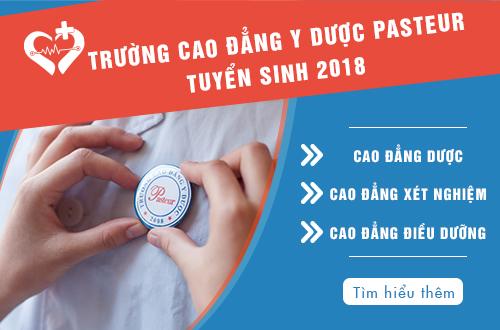 Trường Cao đẳng Y Dược Pasteur TP.HCM thông báo tuyển sinh năm 2018