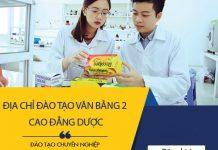 Địa chỉ đào tạo Văn bằng 2 Cao đẳng Dược TP.HCM chất lượng