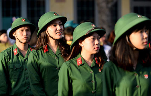 Một vài thay đổi trong tuyển sinh quân đội năm 2018