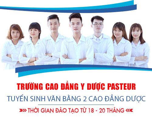 Sinh viên văn bằng 2 Cao đẳng Dược TP. HCM được tạo điều kiện học tập