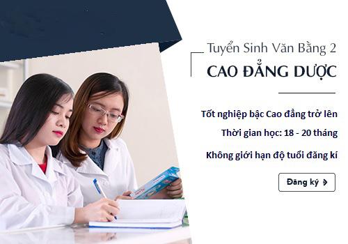 Điều kiện xét tuyển văn bằng 2 Cao đẳng Dược TP.HCM năm 2018