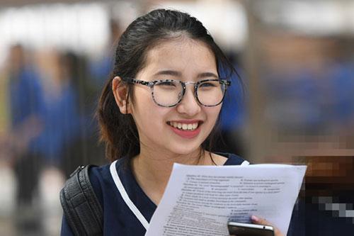 Thí sinh thi THPT Quốc gia 2018 (Hình ảnh minh họa)