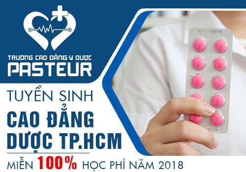 Tuyển sinh Cao đẳng Dược TPHCM theo hình thức xét tuyển