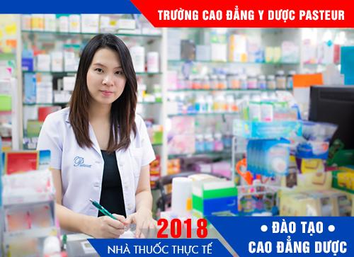 Địa chỉ học Cao đẳng Dược TPHCM 2018 chất lượng