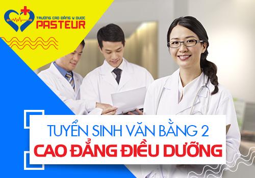 Tuyển sinh Văn bằng 2 Cao đẳng Điều dưỡng TPHCM ngoài giờ hành chính