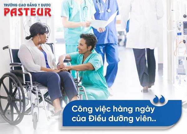 Công việc chăm sóc sức khỏe của người Điều dưỡng viên