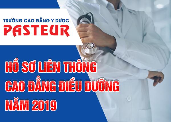 Hồ sơ đăng ký học Liên thông Cao đẳng Điều dưỡng TPHCM 2019