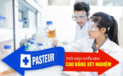 Tuyển sinh Cao đẳng Kỹ thuật Xét nghiệm Y học TPHCM từ ngày 01/01/2019