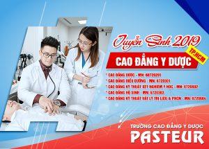 Trường Cao đẳng Y Dược Pasteur tuyển sinh năm 2019
