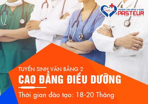 Tuyển sinh Văn bằng 2 cao đẳng điều dưỡng Sài Gòn năm 2019