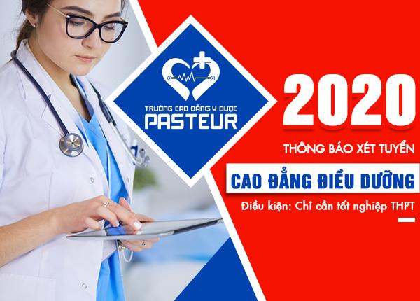 Tuyển sinh Cao đẳng Điều dưỡng TPHCM năm 2020