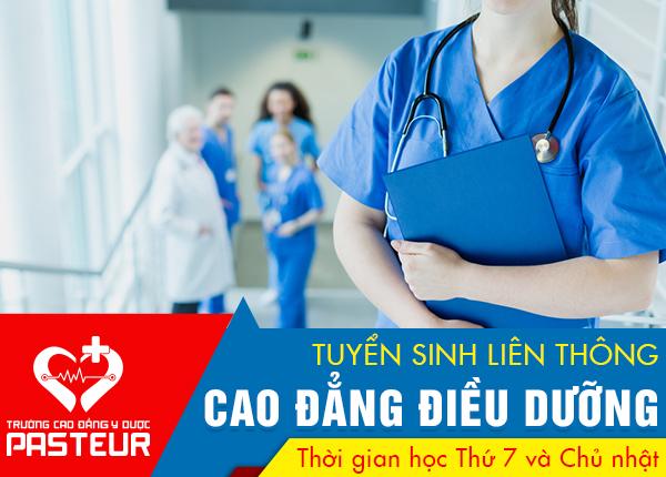 Tuyển sinh liên thông Cao đẳng Điều dưỡng TPHCM năm 2020