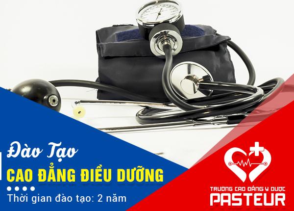 Trường Cao đẳng Y Dược Pasteur có tuyển sinh Cao đẳng Điều dưỡng học 2 năm