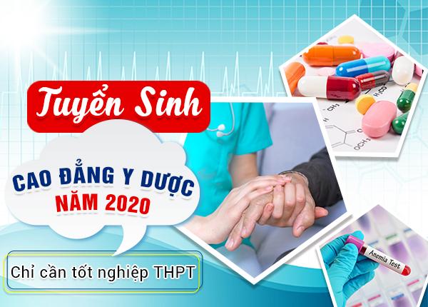 Tuyển sinh Cao đẳng Y Dược TPHCM năm 2020