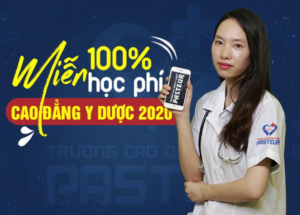 Cơ hội được miễn 100% học phí 2020 khi nhập học Cao đẳng Y Dược tại TPHCM