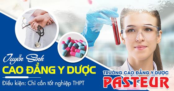Cơ hội được miễn 100% học phí khi xét tuyển Cao đẳng Y Dược Pasteur TPHCM