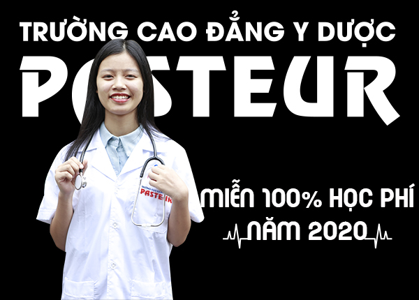 Cao đẳng Dược Pasteur TPHCM miễn học phí năm 2020