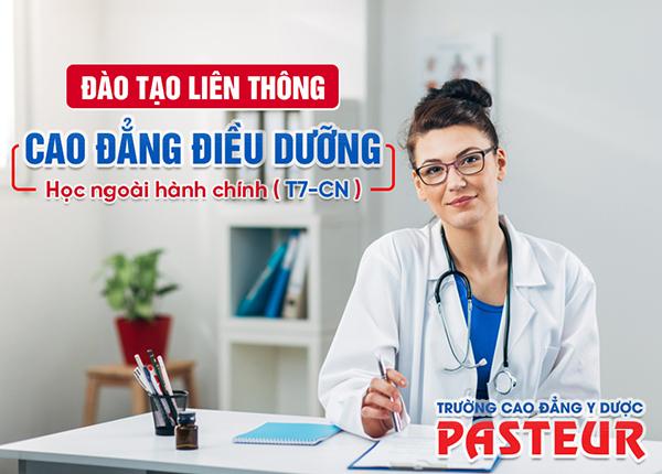 Học liên thông Cao đẳng Điều dưỡng cuối tuần ở đâu tại TPHCM?