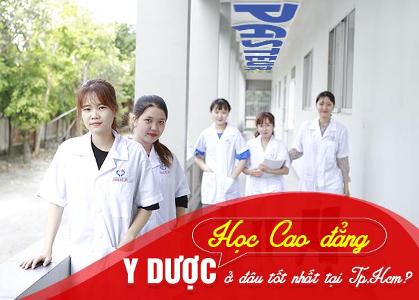 Học Cao đẳng Y Dược ở đâu tại TPHCM tốt nhất?
