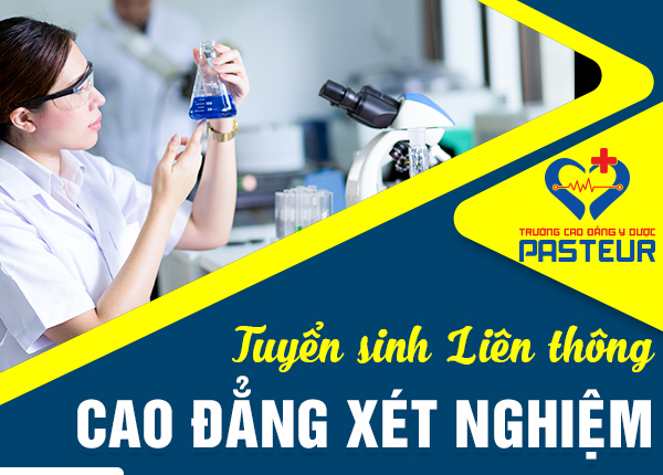 Tuyển sinh liên thông Cao đẳng Xét nghiệm tại Bình Tân – TPHCM năm 2020