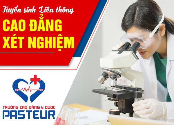 Tuyển sinh lớp liên thông Cao đẳng Xét nghiệm tại Bình Tân – TPHCM năm 2020