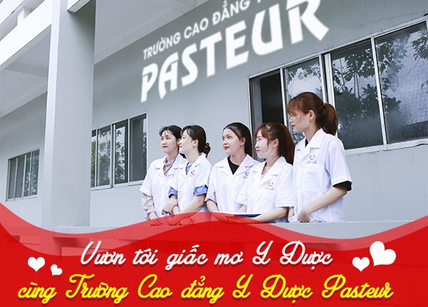 Trường Cao đẳng Y Dược Pasteur đào tạo cán bộ y tế giỏi