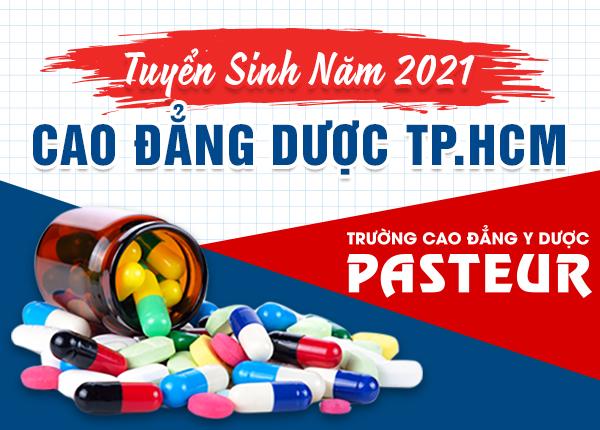 Tuyển sinh Cao đẳng Dược TPHCM năm 2021
