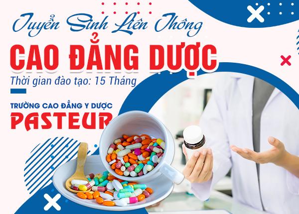 Đào tạo liên thông Cao đẳng Dược tại TPHCM