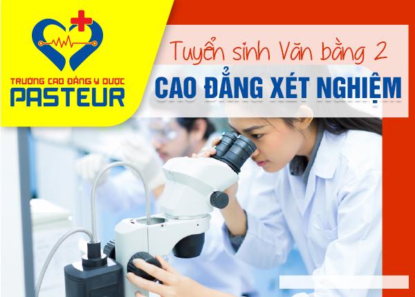 Tuyển sinh văn bằng 2 Cao đẳng Xét nghiệm TPHCM năm 2021 tại Bình Tân