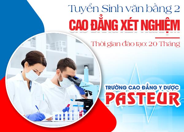 Tuyển sinh Văn bằng 2 Cao đẳng Xét nghiệm TPHCM năm 2021
