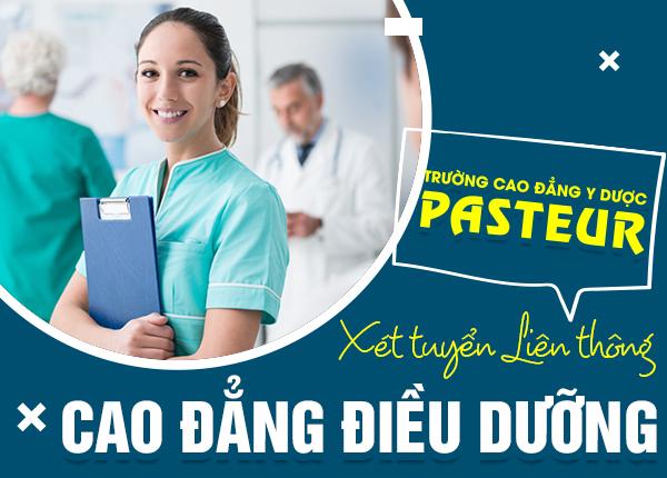 Liên thông Cao đẳng Điều dưỡng năm 2021 áp dụng phương thức xét tuyển
